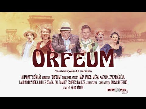 ORFEUM előadás ajánló
