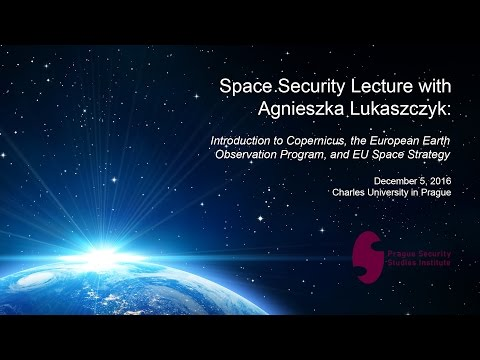 Agnieszka Lukaszczyk: Introduction to Copernicus and the European Earth Observation Program
