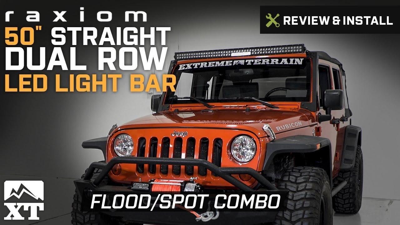 "Mount Bracket for Jeep Wrangler JL 50/"" Tri-Row LED Light Bar Spot Flood Offroad"