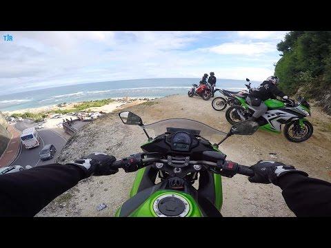 Jalan-jalan Sore ke Pantai Pandawa, Bali | KAWASAKI NINJA 650