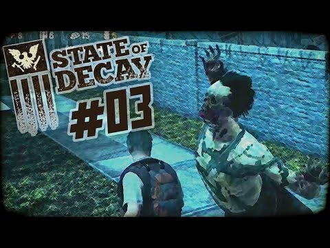 """State of Decay Day One Edition Part 3 - """"FERAL ZOMBIE ATTACK!!!"""" 1080p PC Gameplay"""