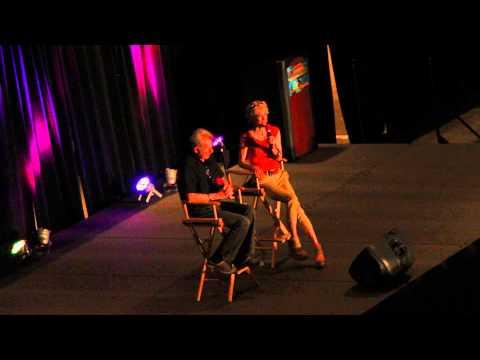 René Auberjonois (Odo) and Nana Visitor (Kira Nerys) at Star Trek Convention Boston 2013 2/2