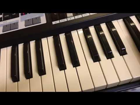Hammond SK1 And Leslie 122 1965 Sound demo