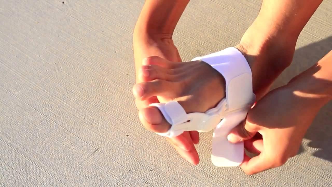 kezelje a lábujjak ízületeit