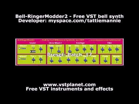 Bell-RingerModder2 - Free VST bell synth - vstplanet com