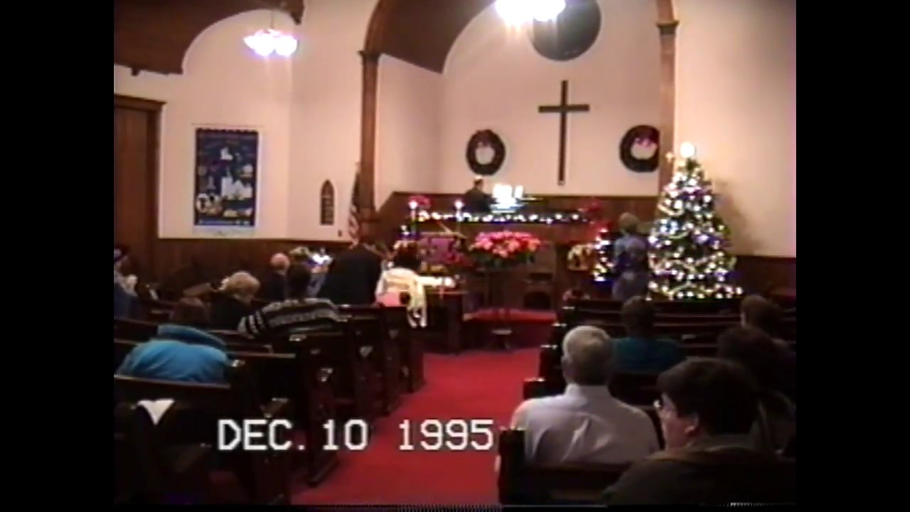 Christmas Cantata  12-10-95