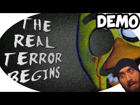 Five Nights at Freddy's DEMO Gameplay (Scared to Death)