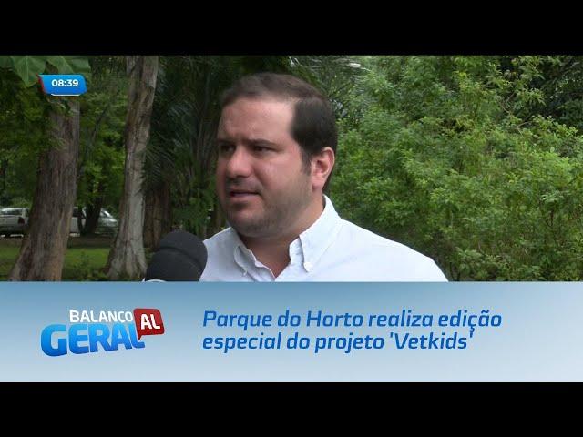 Parque do Horto realiza edição especial do projeto 'Vetkids'