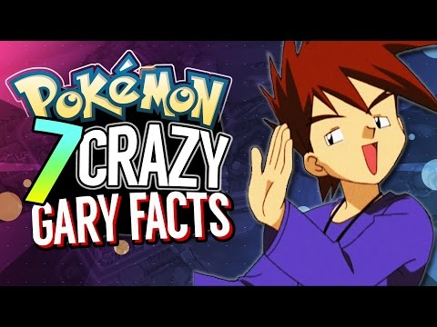 7 Pokemon Facts YOU DIDN'T KNOW about GARY OAK | Pokemon FEET