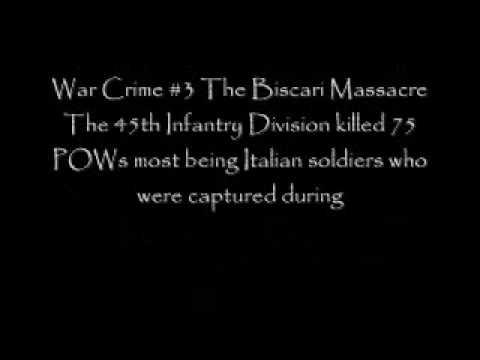 The American War Crimes