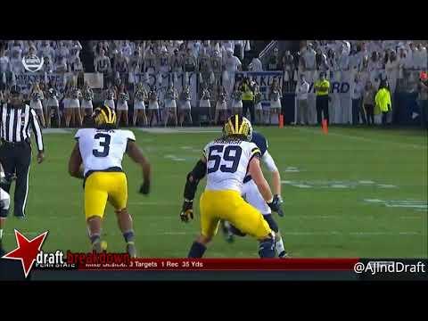 Mike Gesicki Penn St Te Vs Michigan 2017