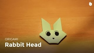 Origami: How To Make A Rabbit Head