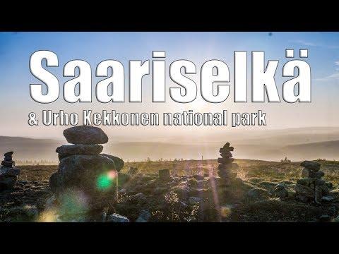 Saariselka & Urho Kekkonen national park   Lapin ruska   Phantom 4 pro