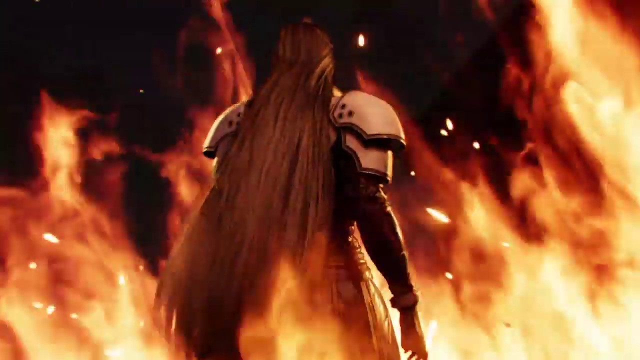 Sephiroth Final Fantasy Vii Remake Demo Youtube