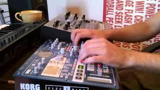 Live Techno Set with Korg Electribe EMX-1 by Enformig