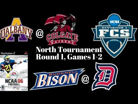 NCAA Football 06 - FCS North Tourney Round 1 - Colgate @ Albany, Bucknell @ Duquesne