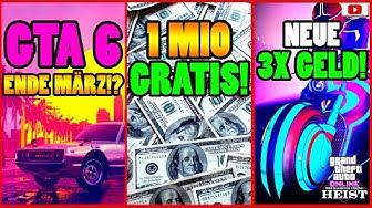🙌Alle Neuen Inhalte!🙌 GTA 6 März!? 1 MIO Gratis! 3X GELD! + Mehr! [GTA 5 Online Casino Heist Update]