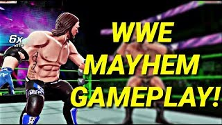 WWE MAYHEM ANDROID GAMEPLAY(New Wrestling Android Game 2018)