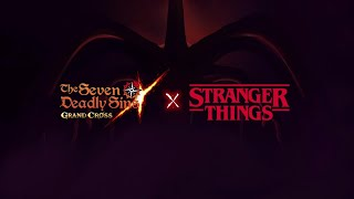 ¡ASÍ VA A SER LA COLLAB con STRANGER THINS! Seven Deadly Sins: Grand Cross
