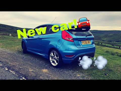 My new car! (Ford Fiesta zetec s mk7)