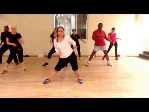 Dancefitness Zumba.