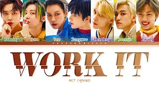 Gambar cover NCT U Work It Lyrics (엔시티 유 Work It 가사) [Color Coded Lyrics Han/Rom/Eng]