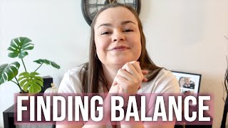 Balance A Busy Week With Me | Mental Health Vlog