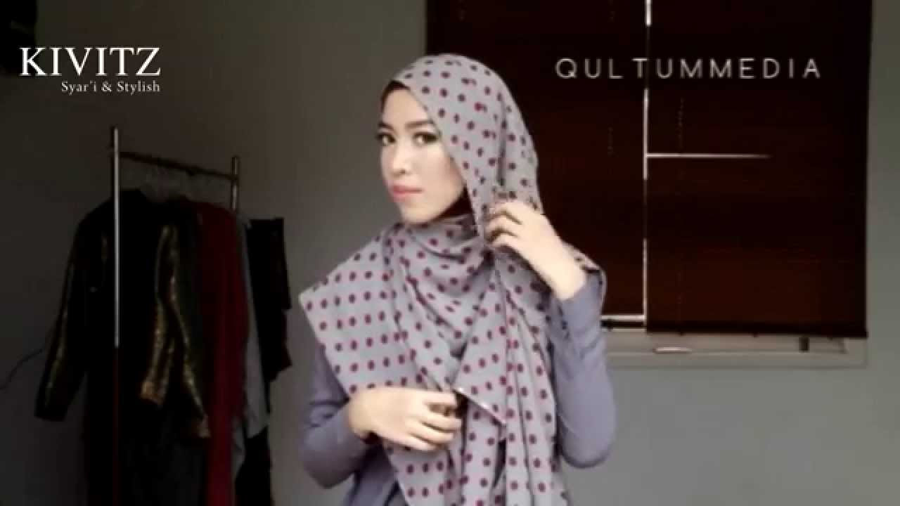 KIVITZ Hijab Tutorial By Fitri Aulia Vol 2 YouTube