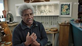 The Solomon Islander mastering the art of pounamu carving