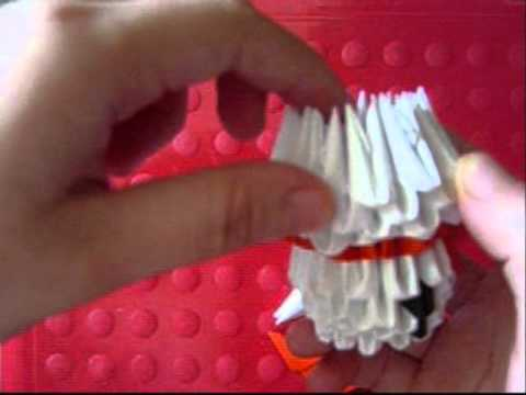 3d origami snowman youtube for How to make snowman with paper