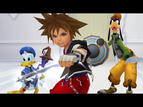 Kingdom Hearts Re: Chain of Memories All Cutscenes (Sora Edition) Game Movie 1080p
