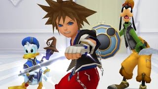 Kingdom Hearts Re: Chain of Memories All Cutscenes (Sora Edition) Game Movie 1080p