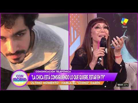 El 'Chino' Darín cruzó en #Incorrectas a Romina Seferian tras la denuncia a su padre