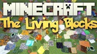 Minecraft: Mody 1.3.2 - The Living Blocks! (Żyjące Bloki,Wszystkie klocki w Minecraft chodzą!)