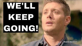 Well keep going J2 BACKTRACK On Supernatural Ending At 300 Episodes