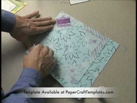 How to Make an Envelopment or Square Envelope Using a Template