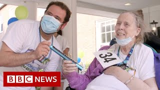'We survived, we're resilient and we're back' - BBC News