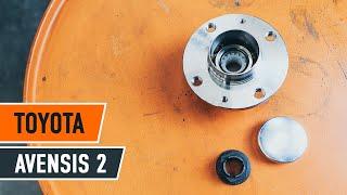 Montaggio Cuscinetto Ruota posteriore e anteriore TOYOTA AVENSIS (T25_): video gratuito