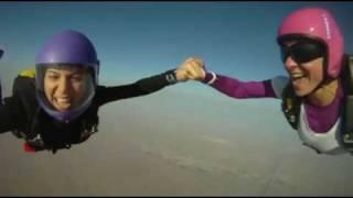 Friday 13th Fun Jumping at Skydive Dubai Desert Campus