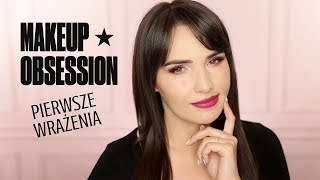 MAKEUP OBSESSION - Nowa Marka w Rossmannie - HIT CZY KIT?