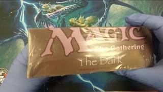 Magic: The Gathering The Dark Booster Box Opening!
