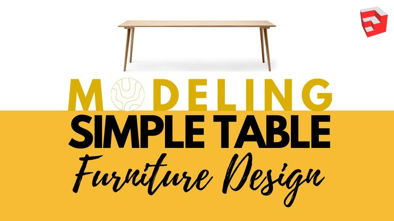 Sketchup Furniture Plans