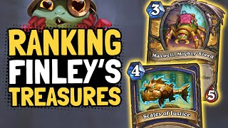 Ranking Finley's TREASURES & HERO POWERS in Tombs of Terror | Hearthstone