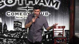 Gregory Cartin at Gotham Comedy Club March 15, 2014- Debut