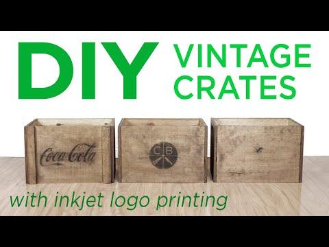 Using Inkjet Printing to make DIY Vintage Crates   10