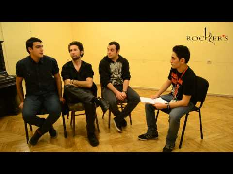 Interview with Unaesthetic (Industrial groove metal, Armenia) ( Metal Attack Festival 2014 )