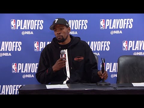 Kevin Durant Postgame Interview - Game 6 | Warriors vs Clippers | 2019 NBA Playoffs