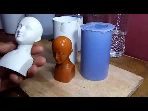 Silicone mold and resin cast || The Figures making