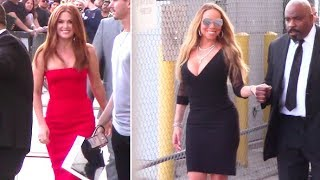 Mariah Carey Shows Off DRAMATIC Weight Loss At Jimmy Kimmel Live