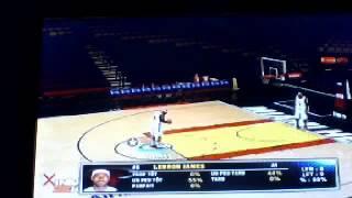 Comment lancer un lancer franc sur NBA2K14 Ps3
